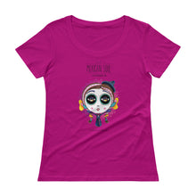 Load image into Gallery viewer, Mes Soul Colorful Ladies' Scoopneck T-Shirt