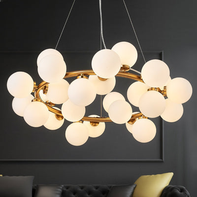 Magic Bean Modern LED Pendant Chandelier Lights-Pendant Lights-Raypom