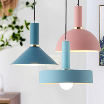 Nordic Simple Pendant Lights Modern Bedroom Dining Room Pendant lamp-Pendant Lights-Raypom