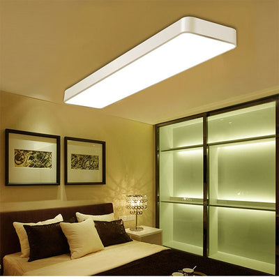 LED Modern Ceiling Light Lam Surface Mount Flush Panel Rectangle Lighting-Ceiling Lights-Raypom