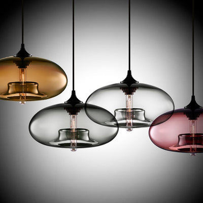 Nordic Modern Hanging 7 Color Glass Pendant Light-Pendant Lights-Raypom