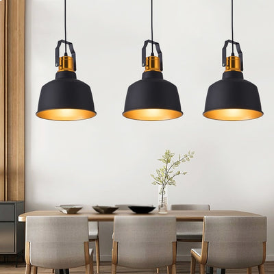 LED Pendant Lights Vintage Loft Aluminum Hanging Lamp-Pendant Lights-Raypom
