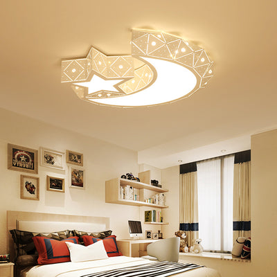 Modern Remote Control and Bluetooth Speaker Ceiling Lights-Ceiling Lights-Raypom