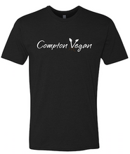 "Load image into Gallery viewer, Compton Vegan ""One plate at a time"" Shirt"