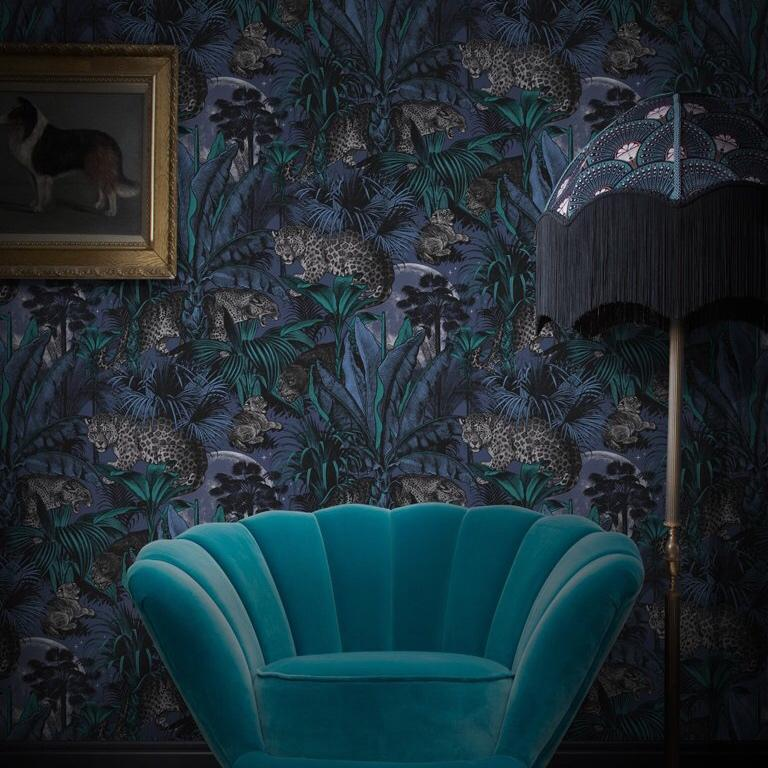 The Joyful Wallpaper Company WALLPAPER Nocturnal Fornication Wallpaper by Divine Savages