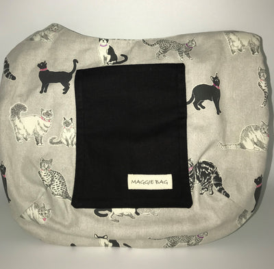 Cat and Dog Lover's (Reversible) Large Maggie Bag
