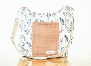 Cartoon Bird Maggie Bag (Reversible)