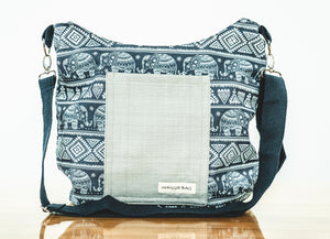 Elephant Maggie Bag (Reversible)
