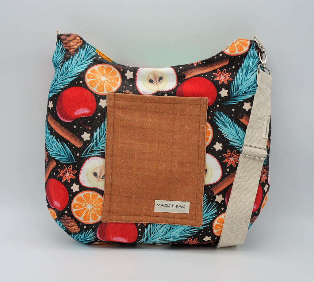 Apple Cider Maggie Bag (Reversible)