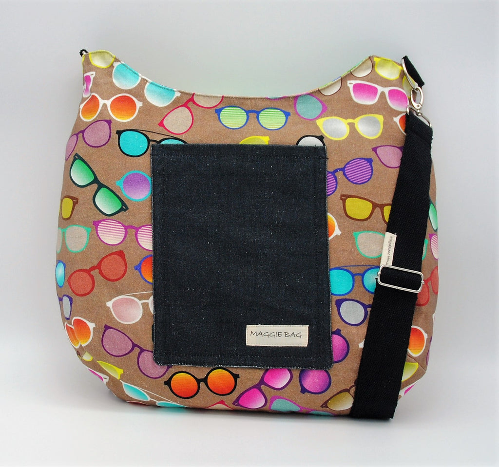 Colorful Shades Maggie Bag (Reversible)