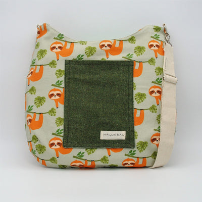 Sloth Maggie Bag (Reversible)