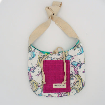 Mermaid Mini Maggie Bag (Reversible)