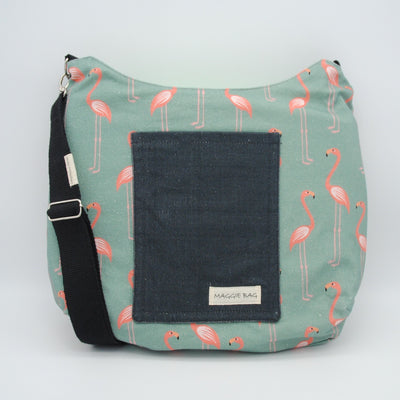 Flamingo Maggie Bag (Reversible)