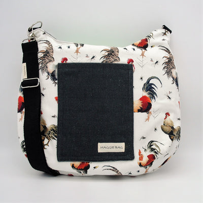 Rooster Maggie Bag (Reversible)
