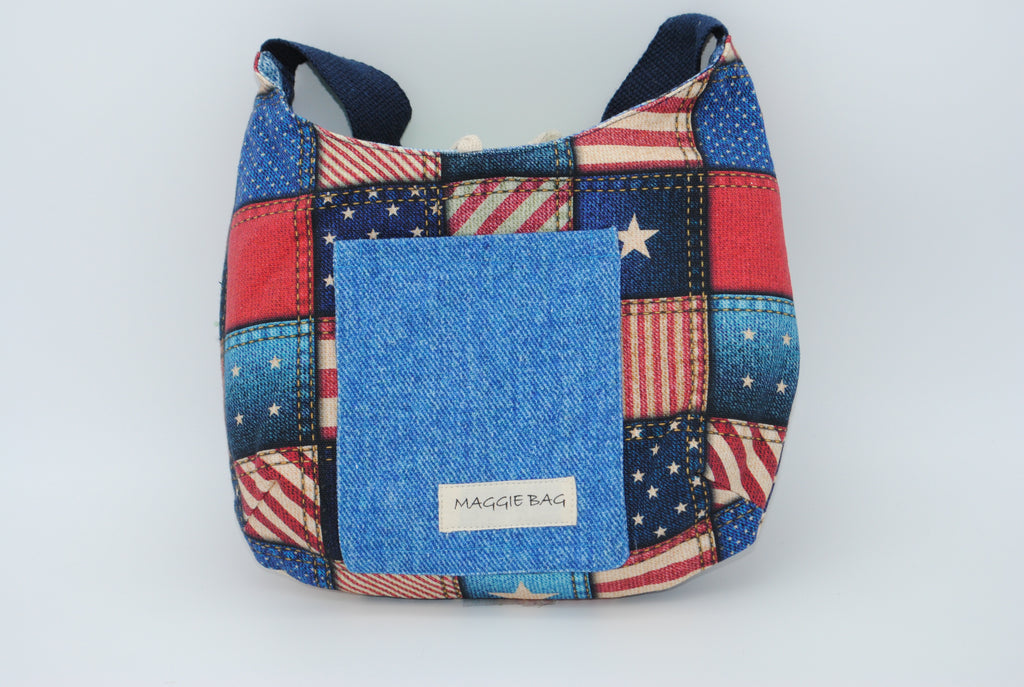 Patchwork Patriotism Mini Bag