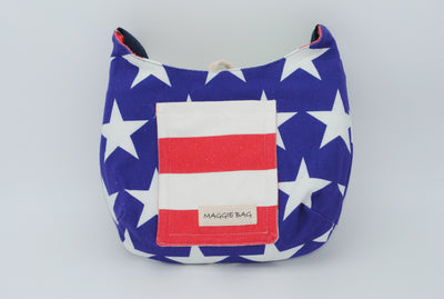American Flag Mini Maggie Bag