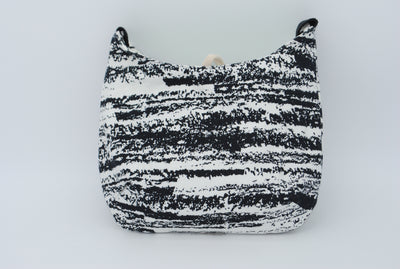 Black and White Sketched Dog - Mini Bag