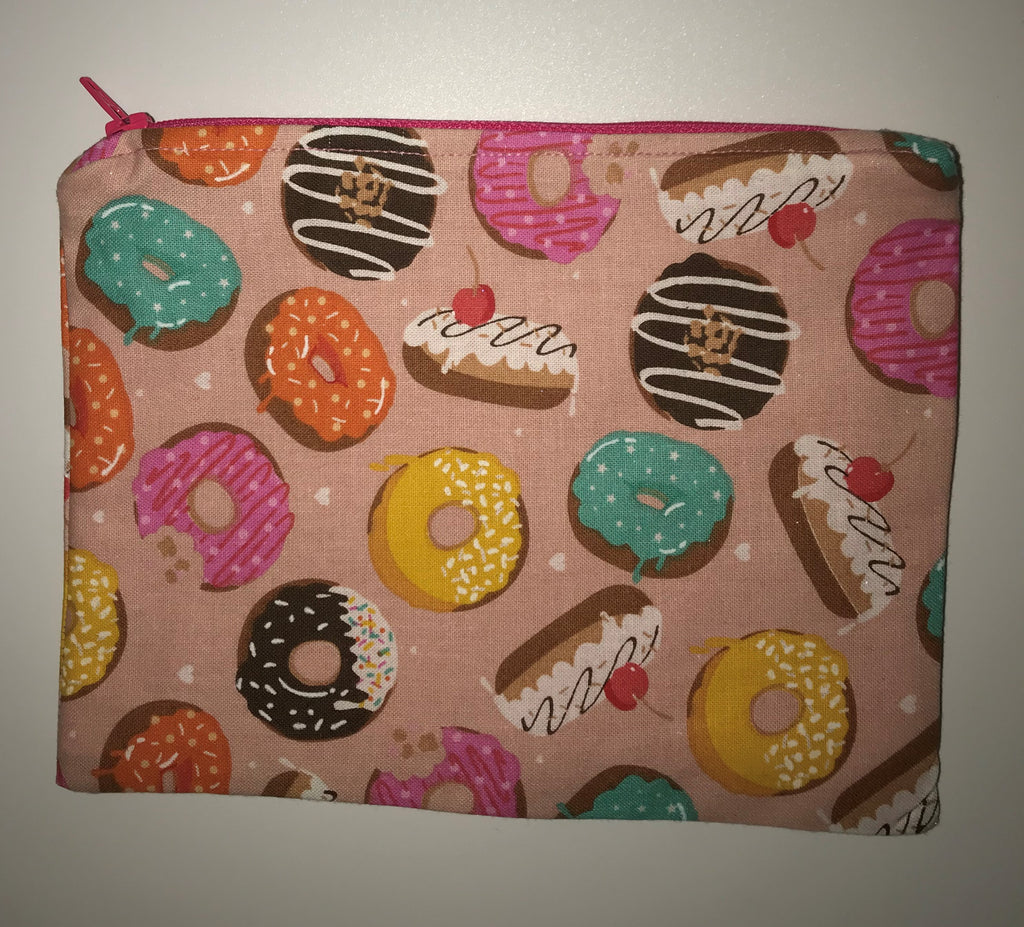 Maggie Bag Zipper Pouches - Donuts