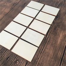 30pcs 70x49mm Blank Plywood Business Cards