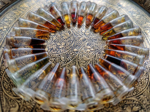 29 attar samples pre-order - Sultan Pasha Attars
