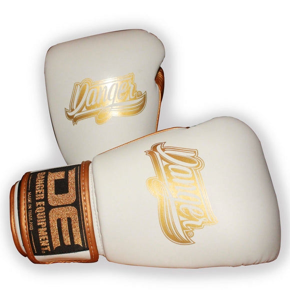 Luvas DANGER SUPER MAX 2.0 White & Gold Edition