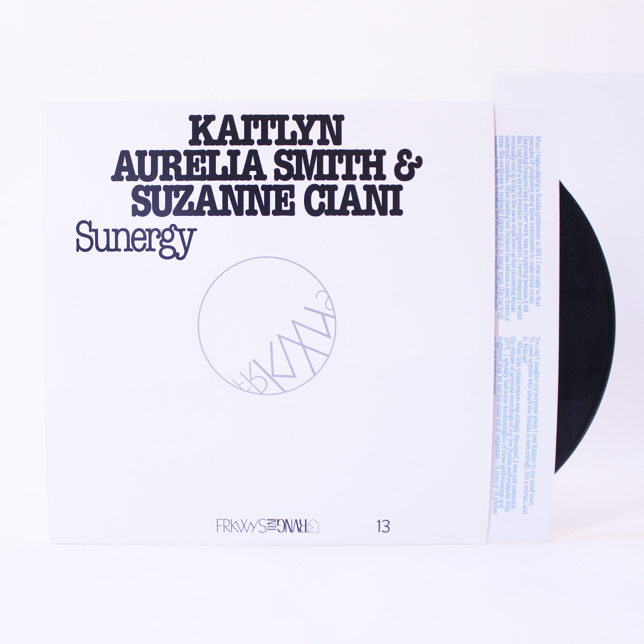 Kaitlyn Aurelia Smith & Suzanne Ciani - Sunergy