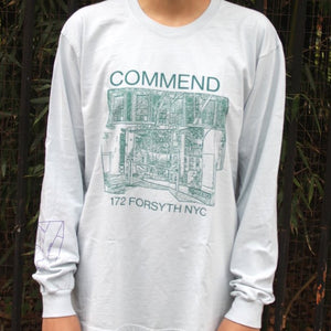 Commend Shop Long Sleeve Tee-Shirt