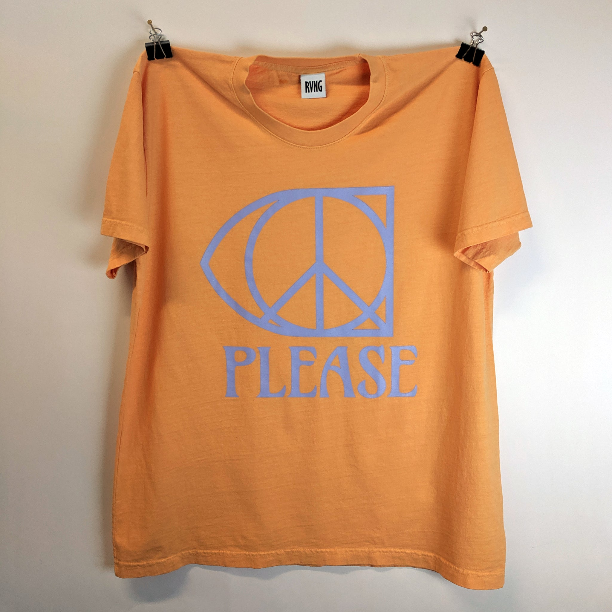 RVNG Intl. PEACE, PLEASE Tee