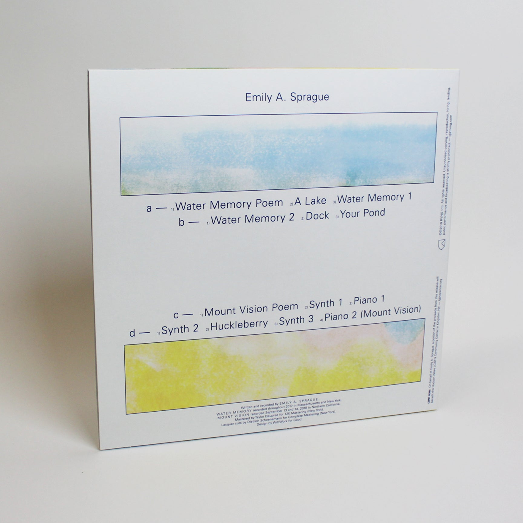 Emily A  Sprague - Water Memory / Mount Vision