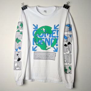 Come! Mend! World Tee