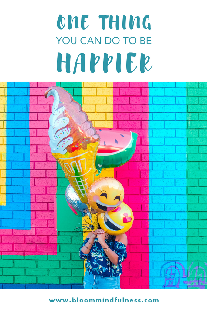 one thing you can do to be happier. happiness, self love, oola book, oolafor women, how to be happier