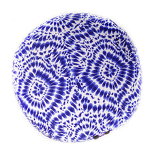 Load image into Gallery viewer, Blue Shibori Zafu