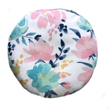 Load image into Gallery viewer, Pink Floral Zafu