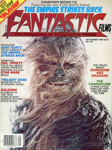 movie magazine back issue - film magazine - fantastic films collectable - star log collectable - film enthusiast gift idea