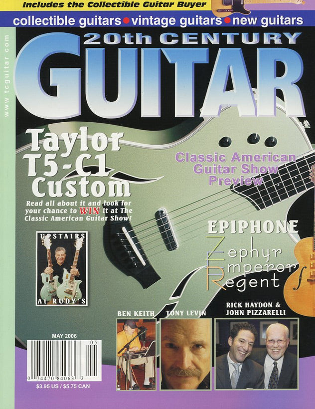 20th Century Guitar Magazine Back Issue