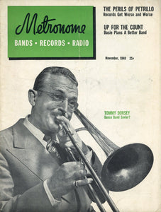Metronome Magazine - Vintage Music Collectable - Musical Memorabilia
