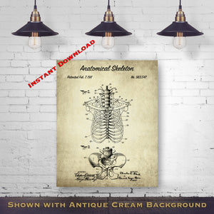 Occupational Wall Decor - Career Patent Prints - Vintage Occupational Gift - Printable Download - Digital Download