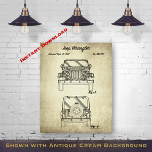 Car Printable Patent Print - Antique Car Blueprint - Automobile Art - Printable Download - Digital Download Patent