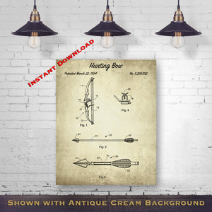 1887 Duck Decoy Printable Patent Print - Hunting Equipment - Hunter Gift - Antique Printable Download - Digital Download Patent - Hunting Wall Decor