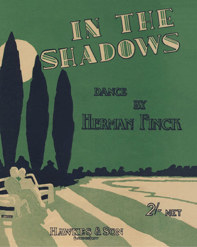 In The Shadows By Herman Finck - 8X10 Digital Download Patent