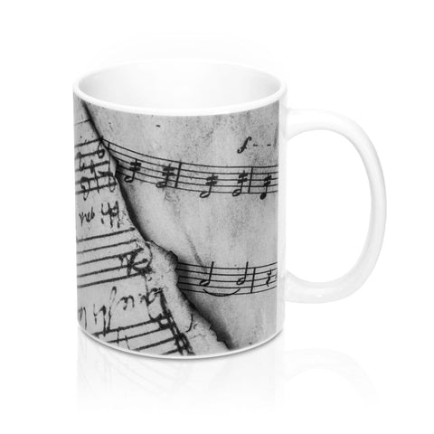 Music Sheet 11 Oz Mug