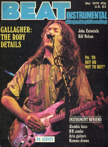 Beat Instrumental - March 1979 Magazine Back Issue