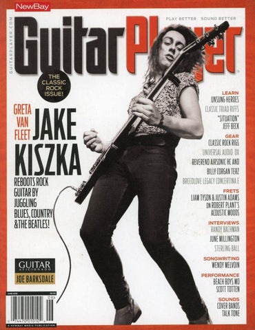 Guitar Player June 2018 Magazine Back Issue - Jake Kiszka Memorabilia - Rare Music Collectible Item