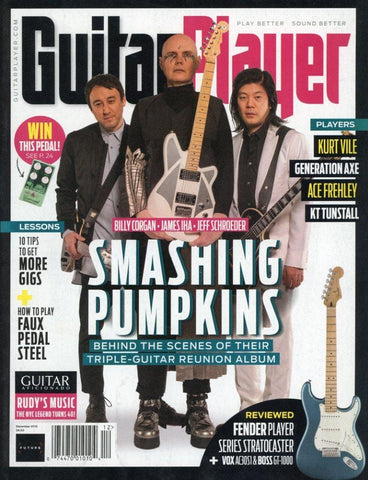 Guitar Player December 2018 Magazine Back Issue - Smashing Pumpkins Memorabilia - Rare Music Collectible Item