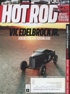 Hot Rod November 2017 Magazine Back Issue - Car Collector Gift