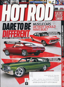 Hot Rod October 2017 Magazine Back Issue - Car Collector Gift