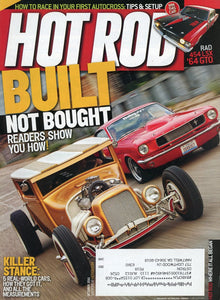 Hot Rod October 2011 Magazine Back Issue - Car Collector Gift