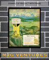 1940's Goebel Beer Advertisement - Bar Room Decor - Man Cave Wall Art