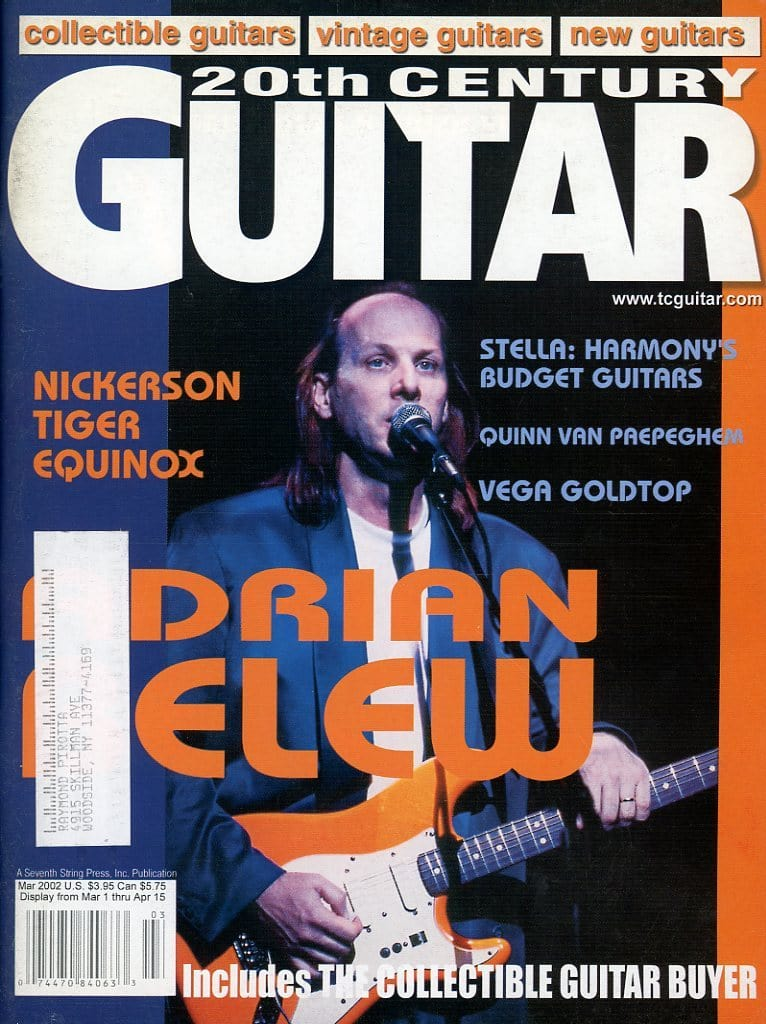 20th Century Guitar - March 2002 (Magazine Back Issue)