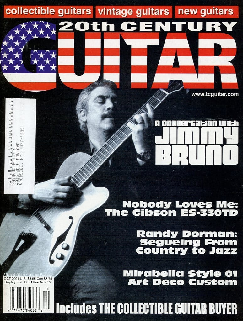 20th Century Guitar - October 2001 (Magazine Back Issue)